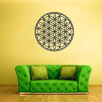 Mandala Wall Stickers Vinyl  Art Decal Transfer Mural 3 Sizes Huge Medium Large