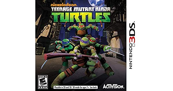 Amazon.com: Teenage Mutant Ninja Turtles - Nintendo 3DS ...