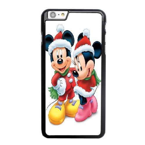 Coque,Coque iphone 6 6S 4.7 pouce Case Coque, Minnie En Mickey Mouse Cover For Coque iphone 6 6S 4.7 pouce Cell Phone Case Cover Noir
