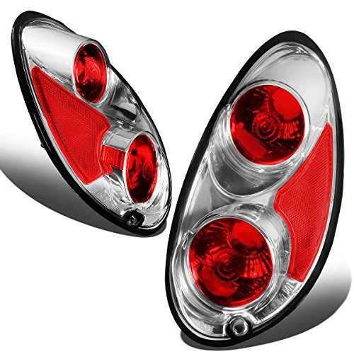 DNA MOTORING TL-AT-PT00-CH Tail Light Assembly, Driver and Passenger Side