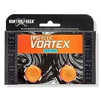 KontrolFreek FPS Freek Vortex para el controlador de PlayStation 4 (PS4) | 2 Thumbsticks de rendimiento | 1 Convexo de gran altura, 1 cóncavo de mediana altura | naranja