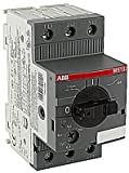 ABB MS132-4.0 Manual Motor Starter, 4 Rated Amps, 2.5-4.0 Amps Range