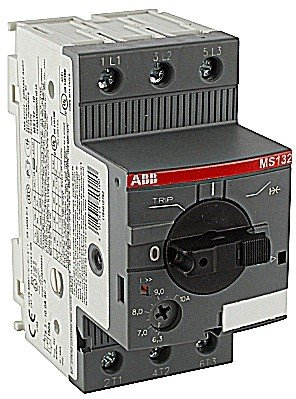 Motor Starter, MS132 Series, Manual, Single/Three Phase, 3 hp, 4 A, 690 V