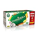 Chandrika Ayurvedic Soap, 125g (Pack Of 6)