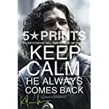 Kit Harington Poster Photo 12x8 Signed PP Actor Autograph Print Perfect Gift Keep Calm Jon Snow by 5 Star Prints