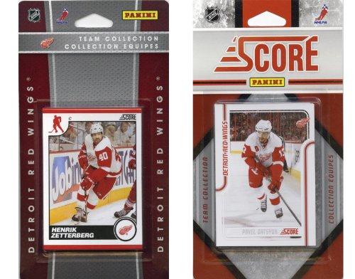 NHL Detroit Red Wings Licensed Score 2 Team Sets]()