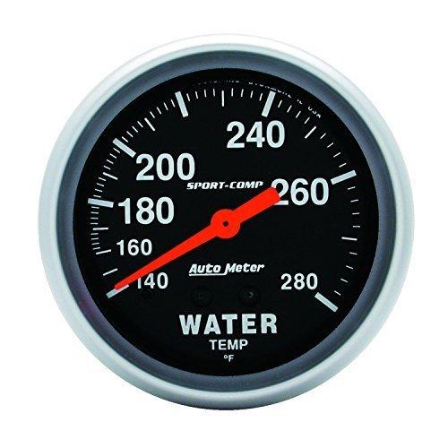Auto Meter 3431 Sport-Comp Mechanical Water Temperature Gauge, Model: 3431, Car & Vehicle Accessories / Parts Review