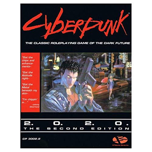 CP: Cyberpunk 2020 (2nd Ed. reprint)R. Talsorian Games Inc.$22.00 SRPISBN: 0-937-279-13-7Cyberpunk - the original RPG of the dark future a world of corporate assasins, heavy-metal heroes and brain burning cyberhackers, packed with cuttin' edge techno...