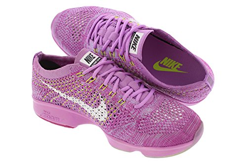 Nike SHOES VOLTM fuschia GLOW WHITE WOMENS white 500 flash FLYKNIT NikeFCHS 698616 WMNS white FCHS 500 FLASH AGILITY fuschia ZOOM glow 0fTww5q