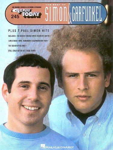 Best of Simon & Garfunkel: E-Z Play Today Volume 245 - Ez Play Piano