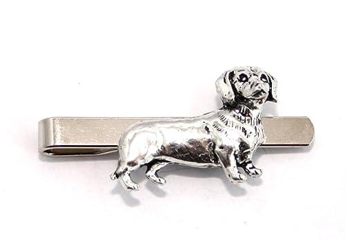 Carcasa rígida de perro salchicha corbata (slide), English Pewter ...