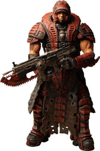 Gears of War 2 NECA Series 4 Dominic Santiago Theron Disguise Figure