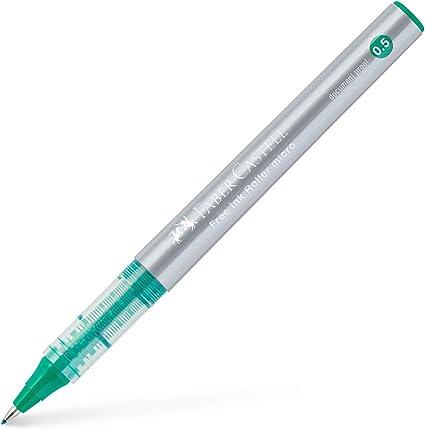 Faber-Castell 348504 - Free Ink Roller 0,5 . Verde. Pack de 12 ...