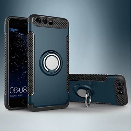 Amazon.com: Huawei P10 Plus Case,Armor Dual Layer 2 in 1 ...