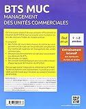 Image de BTS MUC Management des Unités Commerciales Tout en un Programmes de 1re et 2e Années