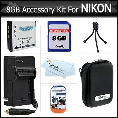 Amazon.com: 8 GB, Kit de accesorios para cámara digital ...