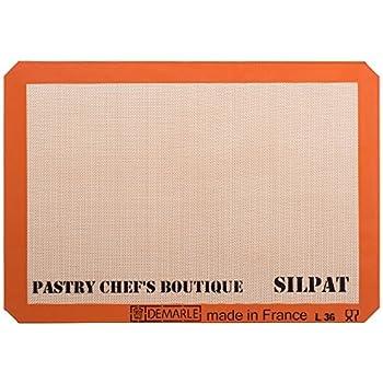 Amazon Com Silpat Non Stick Silicone Baking Mat Set Of 2