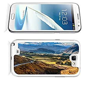 Tnianming Galaxy Note 2 case,Samsung Galaxy Note 2 Nature Mountain t0mba