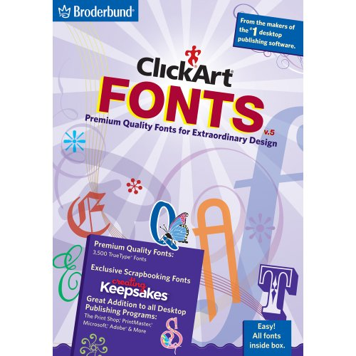 (ClickArt Fonts v5 [Download] )