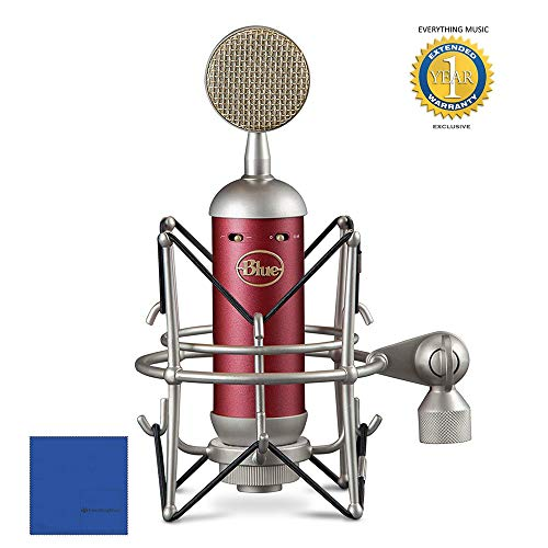 Blue Microphones Spark SL Large-Diaphragm Studio Condenser Microphone with 1 Year EverythingMusic Extended Warranty Free