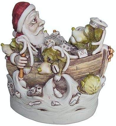 Harmony Kingdom – Sick Bay – Christmas Santa Figurine