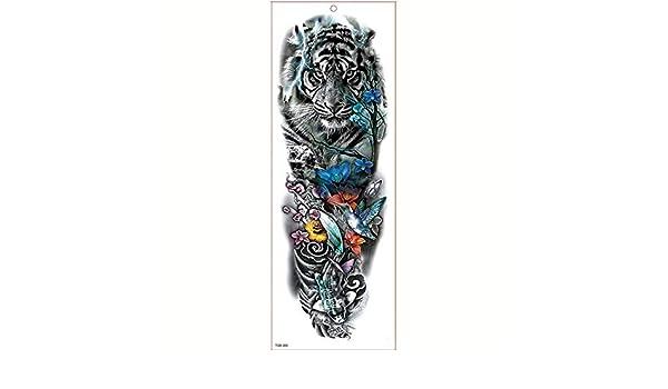 7pcs Cuerpo metálico cuello del brazo del tatuaje del brazo del ...
