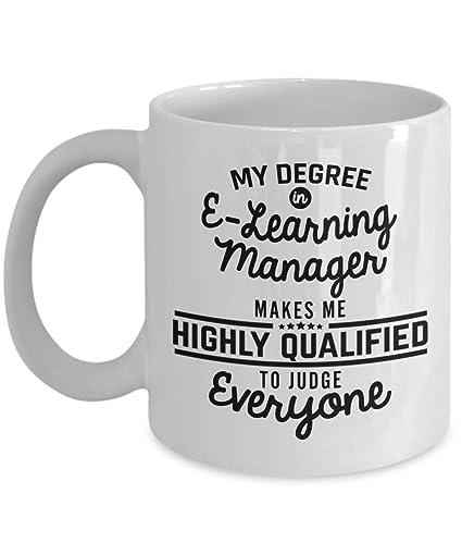 Amazoncom E Learning Manager Coffee Mug 11 Oz Ceramic