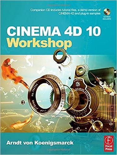 Amazon com: CINEMA 4D 10 Workshop (9780240808970): Arndt von
