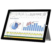 Microsoft Surface 3 Net-tablet PC - 10.8 - ClearType - Wireless LAN - 4G - Intel Atom x7 x7-Z8700 Quad-core (4 Core) 1.60 GHz - MA4-00009