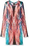 Torn by Ronny Kobo Women's Rachel Laser Brush Dress, Coral, XS US