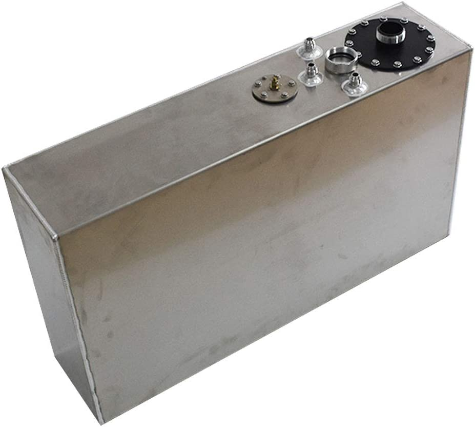 labwork Slim Aluminum Race//Drift Fuel Cell Gas Tank 17 Gallon 64L+Level Sender