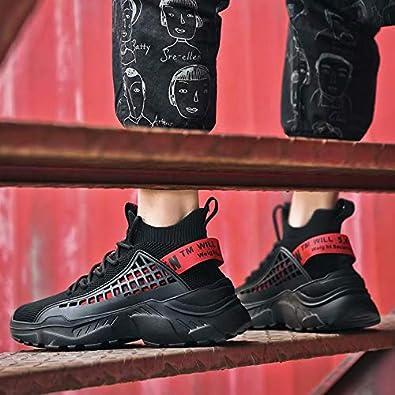 SANNAX Chaussure Homme Chaussures Sport Basket Montante Baskets Mode Sneakers Homme Chaussures D/écontract/ées