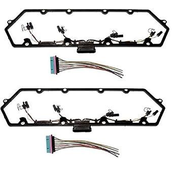 7.3L 94-97 Powerstroke Diesel Valve Cover Gasket  /& Harnesses KIT