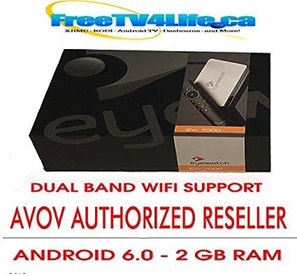 AVOV TVONLINE EYEWATCH 4K: Amazon ca: Electronics