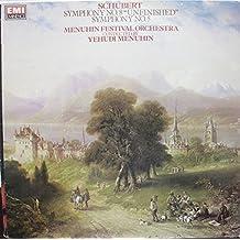 "Schubert: Symphony No 8 in B Minor ""Unfinished"" / Bruno Walter Conducting The Philadelphia Orchestra [10"" Vinyl LP] [Mono]"