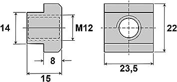 Paulimot Spannpratzen Set 58 Teilig M12 14 Mm Im Koffer Baumarkt
