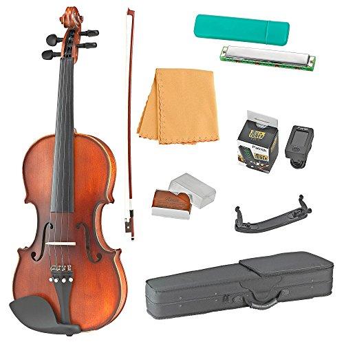 Estella 4/4 VI200 Full Size Solid Wood Student Acoustic Violin by Estella