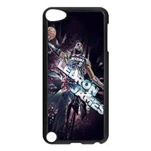 DIYCASETORE Phone Case LeBron James Bumper Plastic Customized Case For Ipod Touch 5