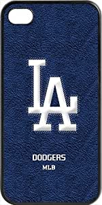 Onelee?? - MLB Team Logo, Los Angeles Dodgers Team Logo iPhone 4 & 4s Case (Black) - 1