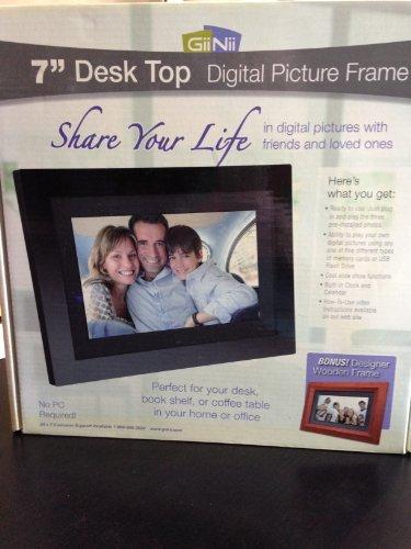 7 Desk Top Digital Picture Frame