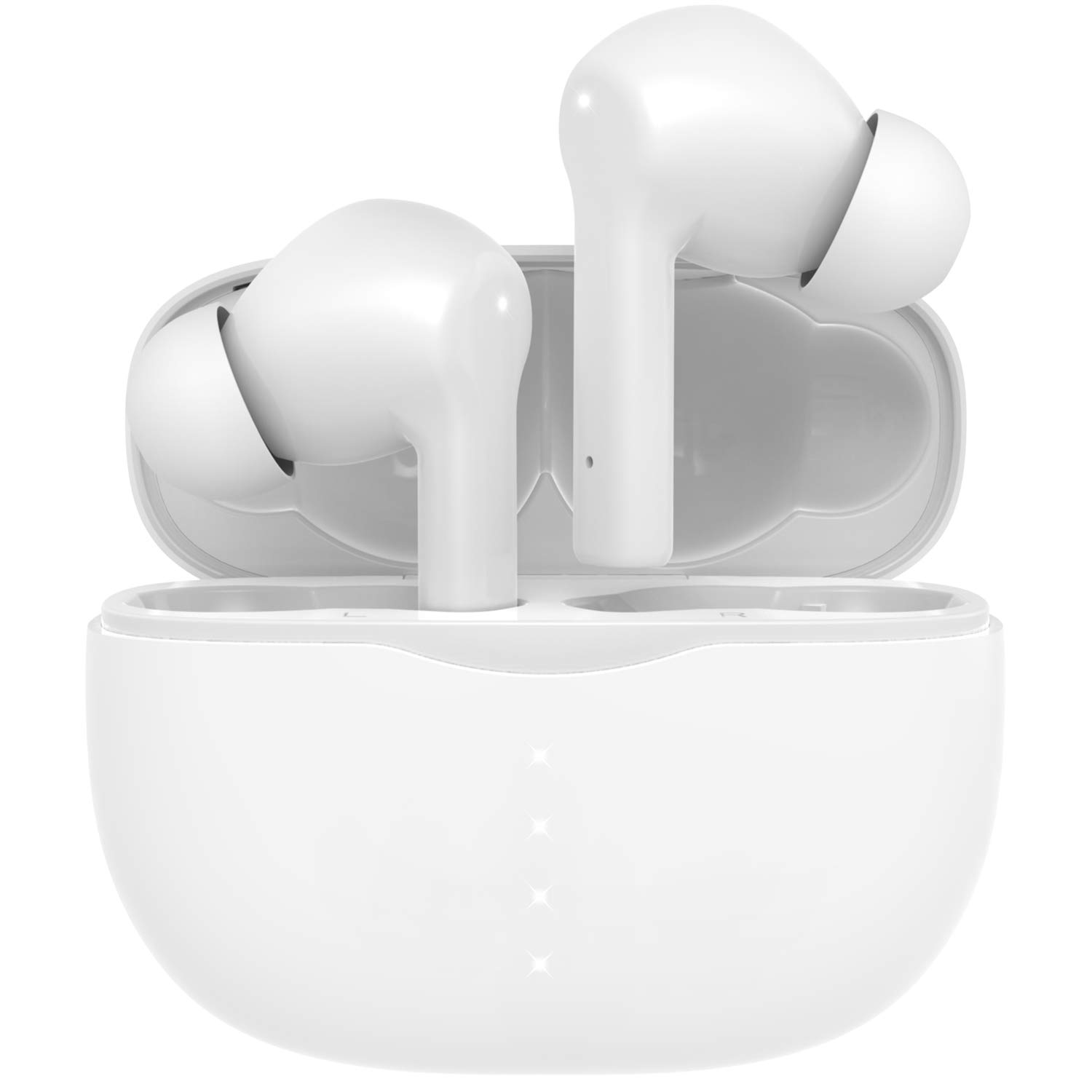 Auriculares Earbuds Inalambricos Amuoc Waterproof IPX7 White