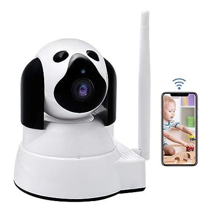 Vigilabebés , LXMIMI Bebé Monitor IP WiFi P2P Cámara de Vigilancia/Seguridad Inalámbrica HD 720P