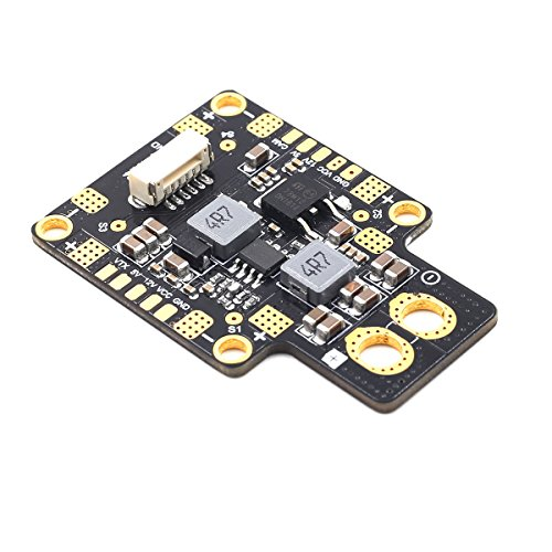 Crazepony Upgrade GEPRC-XT60 PDB Power Distribution Board with 3-6S Input 5V 12V Output Support the LC filter for FPV Racing Quadcopter Frame