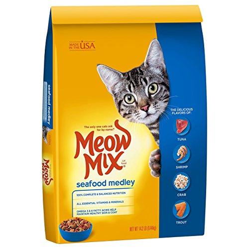 Meow Seafood Medley Cat Food 14.2 LB