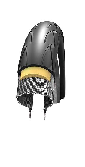 Schwalbe Evolution - Cubierta para Bicicletas (antipinchazos), Color Negro, Talla 14 x 1.75: Amazon.es: Deportes y aire libre