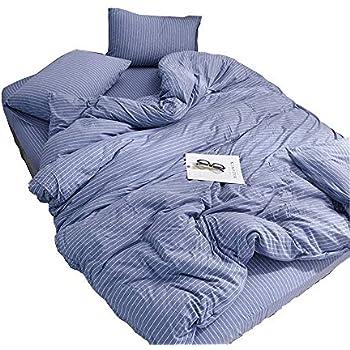 Amazon.com: Baision Jersey Knit Duvet Cover Set(1duvet