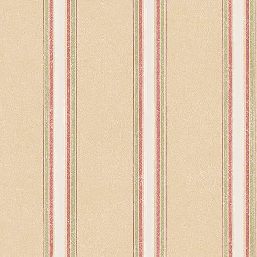 Manhattan comfort NWAB42411 Vernon Series Vinyl Striped Design Large Wallpaper Roll, 20.5