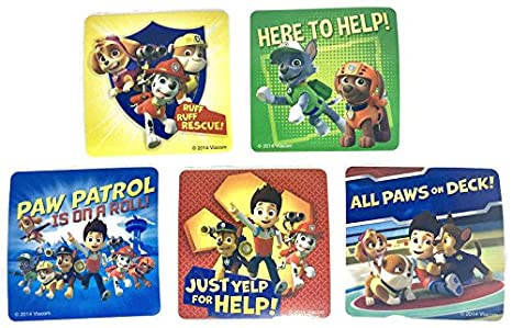 Fun Patrol Bundle with Paw Patrol Swim Ring and Bubbles to Make Loads of Colorful Bubbles and 5 Assorted Stickers - 3 Piece Bundle Various