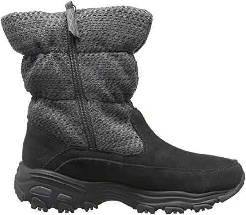 Botas Charcoal Mujer para Gris D'Lites Skechers Z8wHBqYx