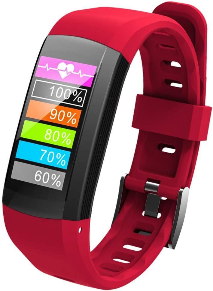 OOLIFENG Reloj Inteligente Incorporado GPS con Pulsómetros Impermeable IP68 Digital Reloj Deportivo Fitness Tracker para Deportes Al Aire Libre